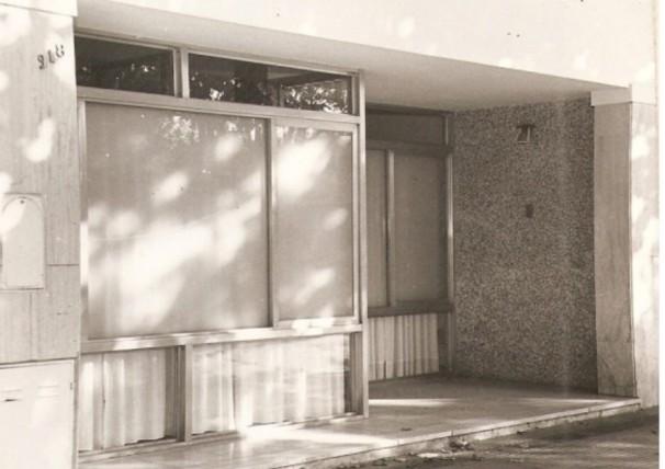 Primeras Oficinas calle Pellegrini