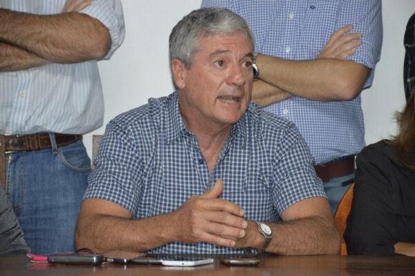 Marcelo García Lacombe, presidente de la Cooperativa de Obras Sanitarias.